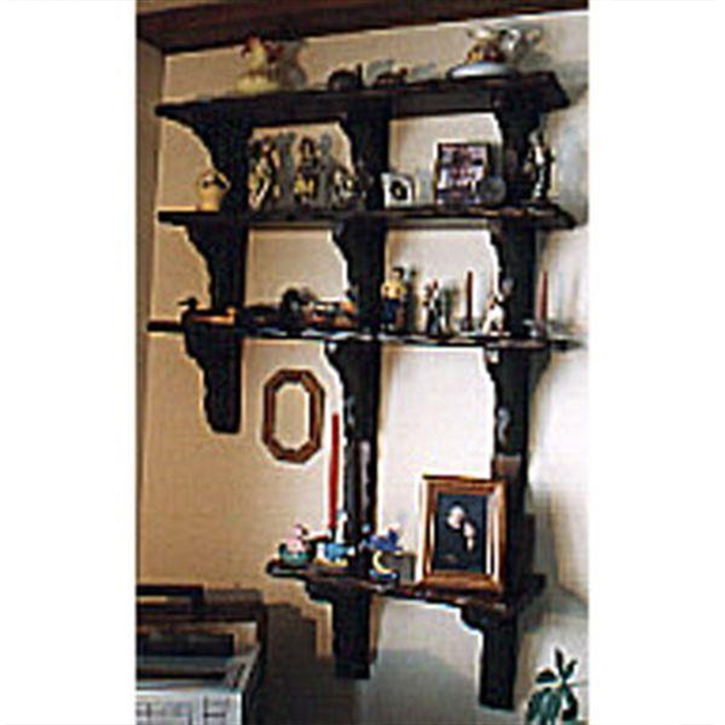 Woodworking Project Paper Plan to Build Decorative Shelving