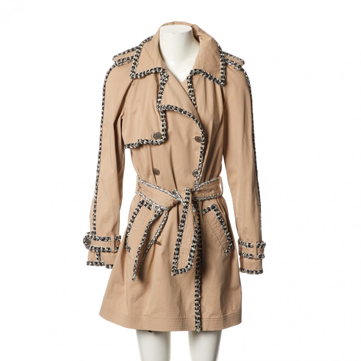 Chanel \N Maentel in  Beige Baumwolle