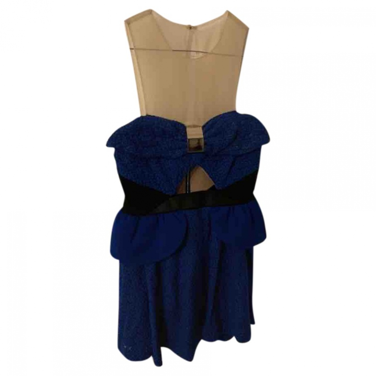 Three Floor Fashion \N Blue Lace dress for Women 6 US