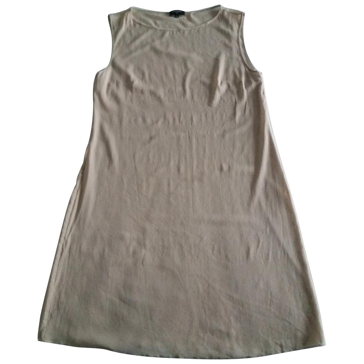 Chanel \N Beige Silk dress for Women 36 FR