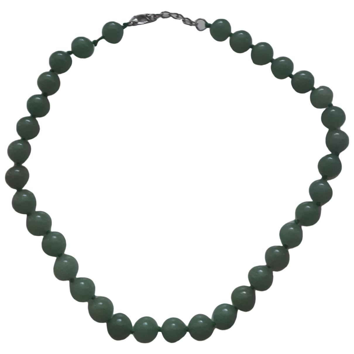 - Collier Lapis lazuli pour femme en jade - vert