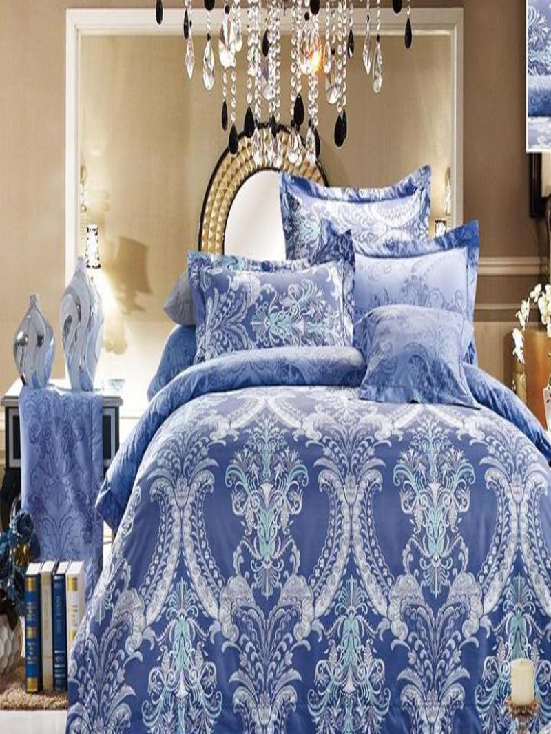 Vivilinen Havana Reversible Print 4-Piece Polyester Duvet Cover Sets