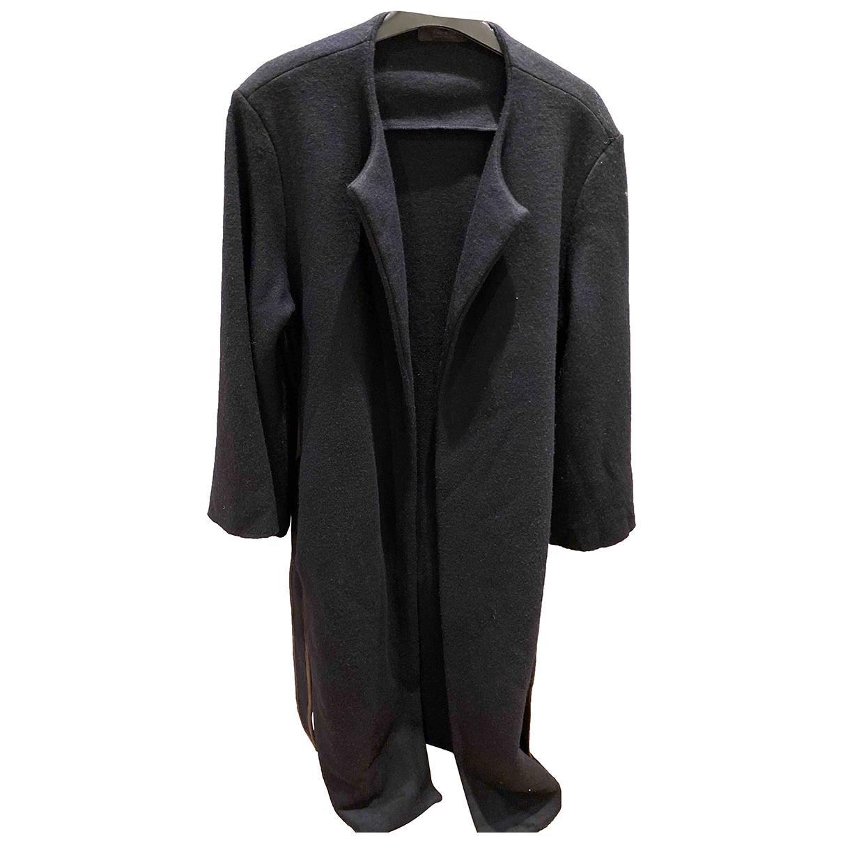 The Row \N Navy Wool coat for Women S International