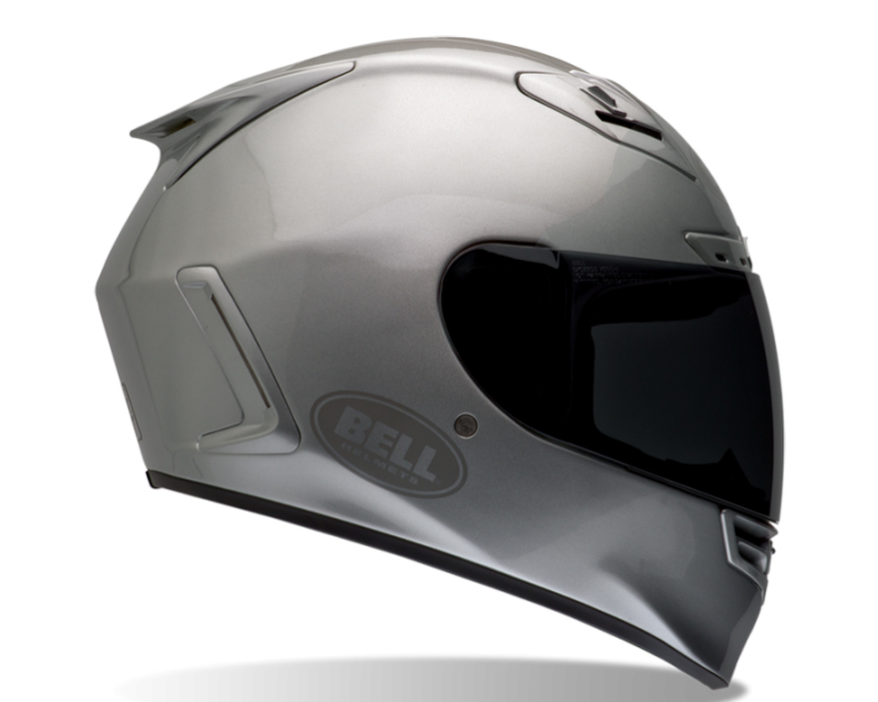 Bell Racing 7000072 Star Metallic Silver Solid Helmet 60-61 | XL