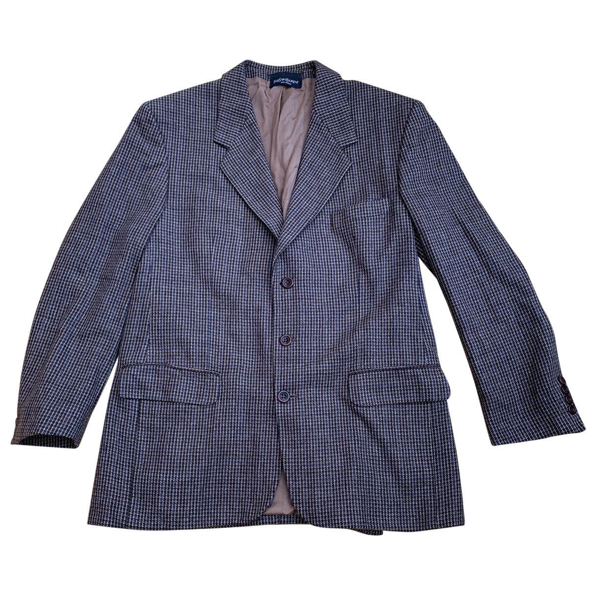 Yves Saint Laurent \N Brown Wool jacket  for Men 52 FR