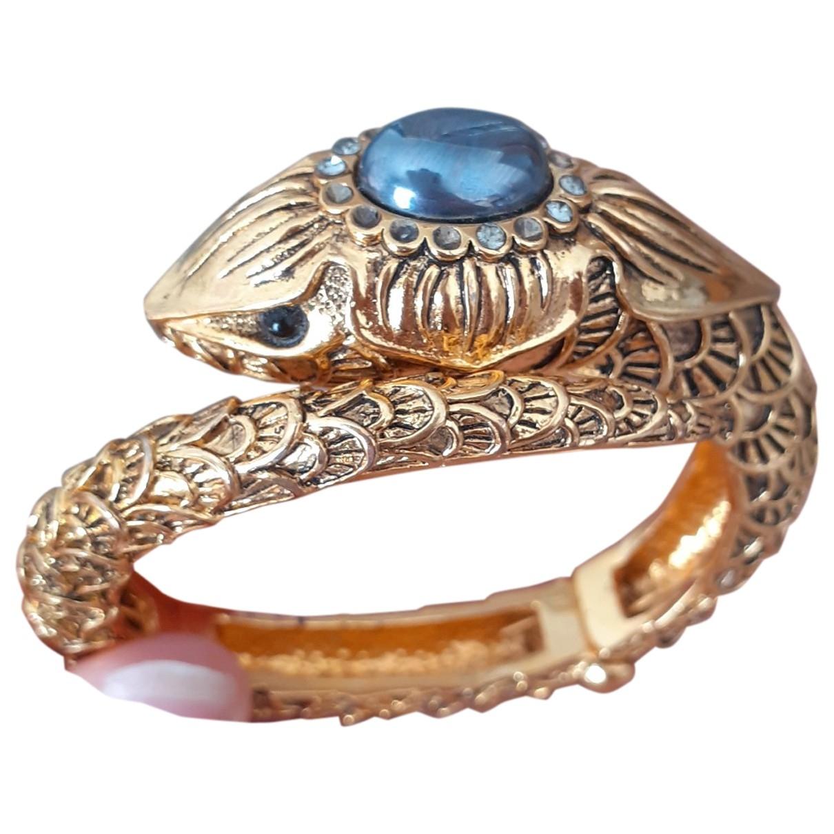 Roberto Cavalli - Bracelet   pour femme en metal - dore