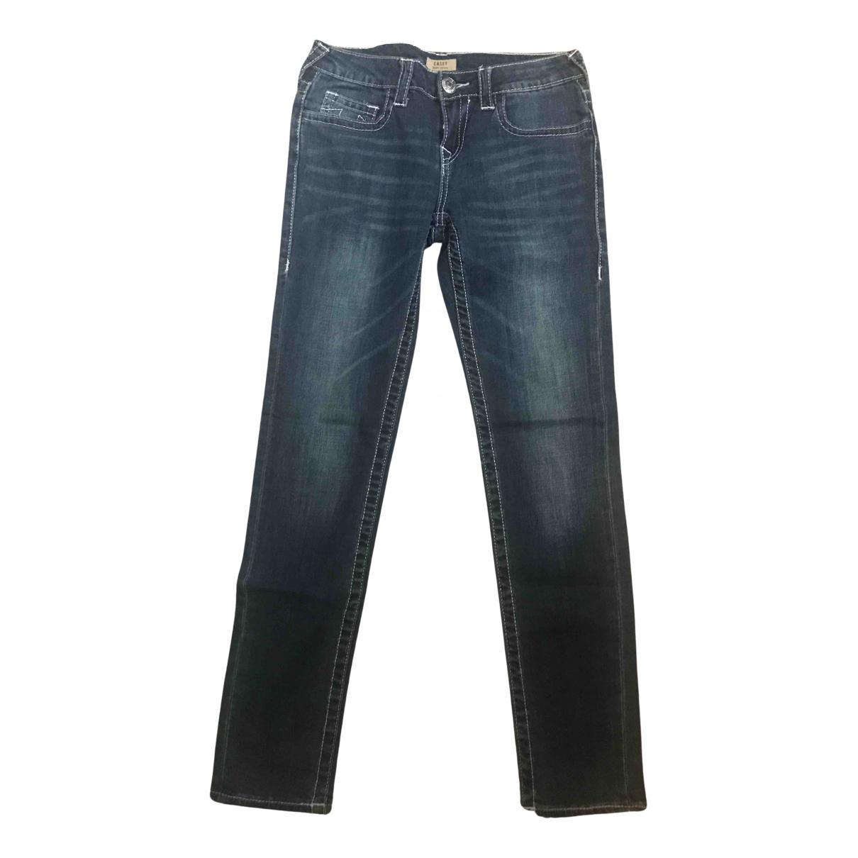 True Religion - Pantalon   pour enfant en denim - bleu