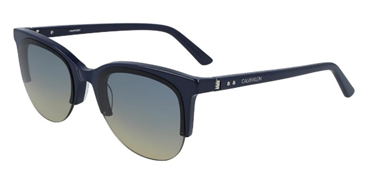 Calvin Klein CK19522S 410 Men's Sunglasses Blue Size 58