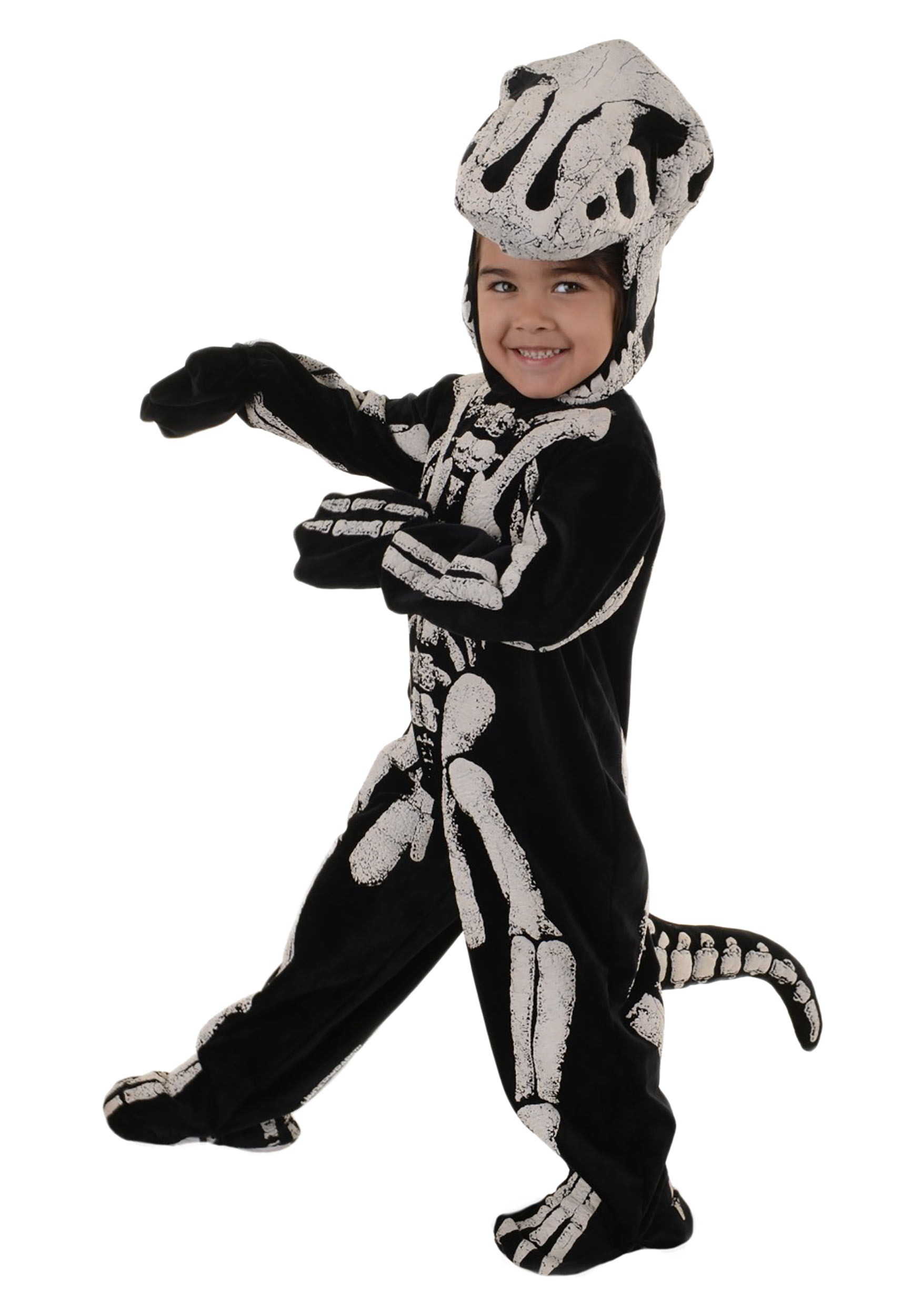 Toddler/Child T-Rex Fossil Costume for Boys