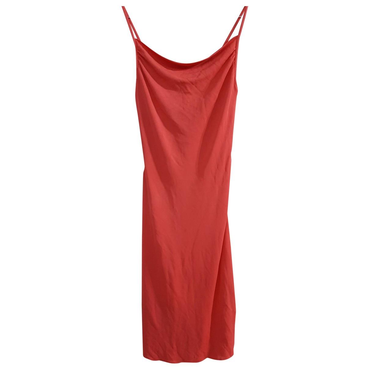Versace Jean - Robe   pour femme en soie - orange