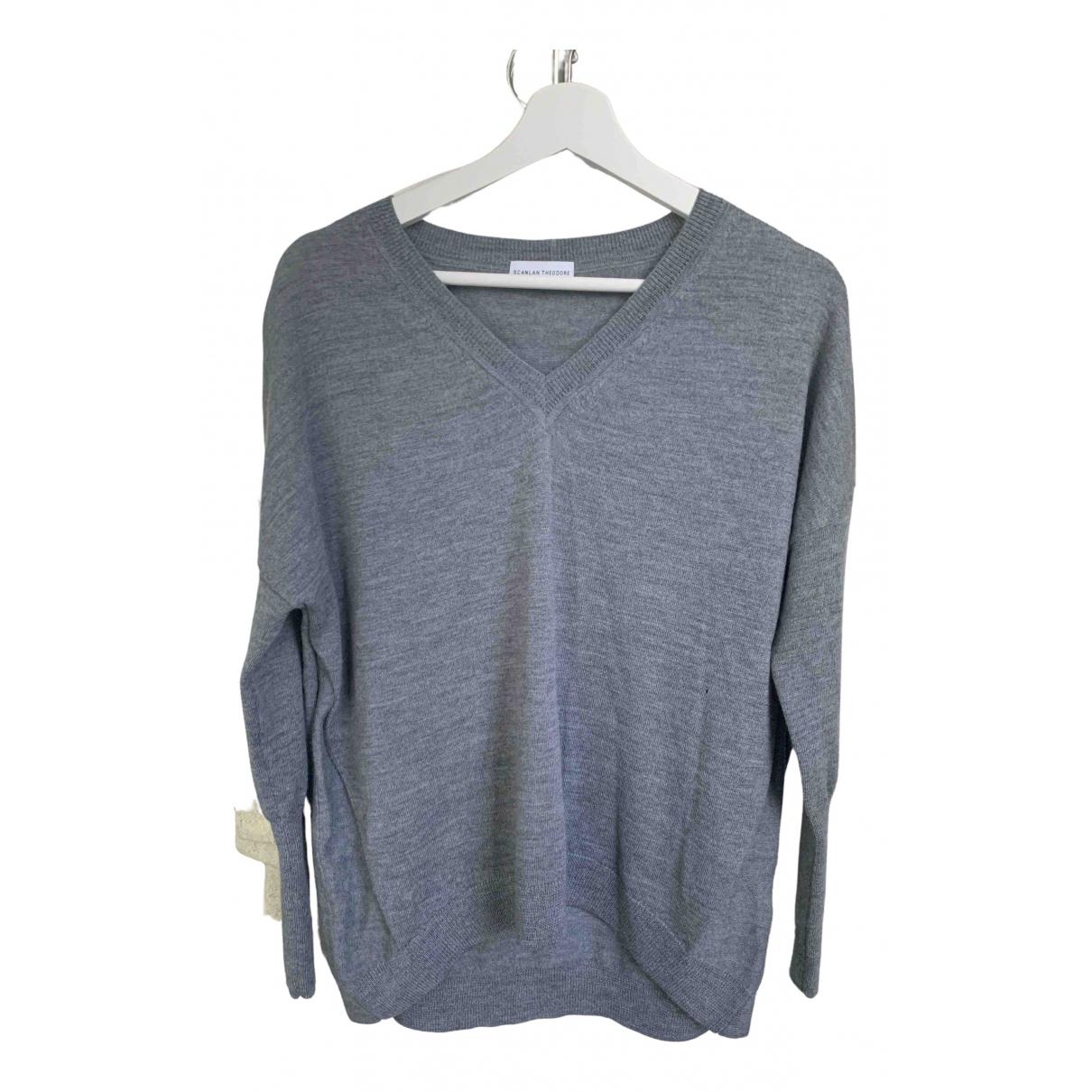 Scanlan & Theodore \N Pullover in  Grau Wolle