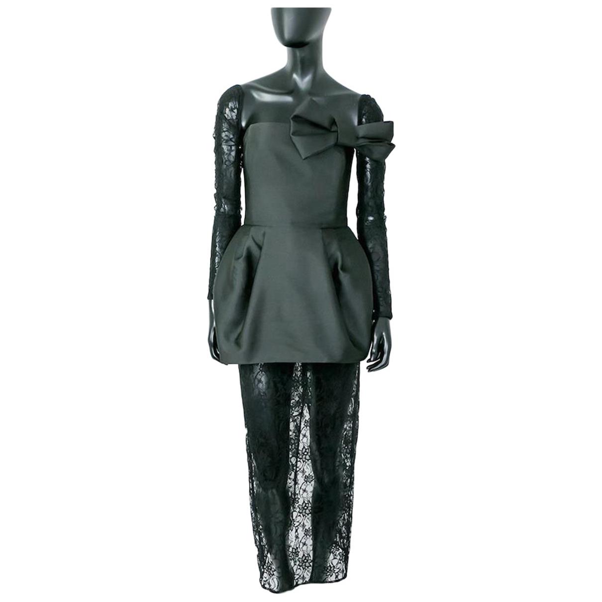 Kalmanovich - Robe   pour femme en soie - noir