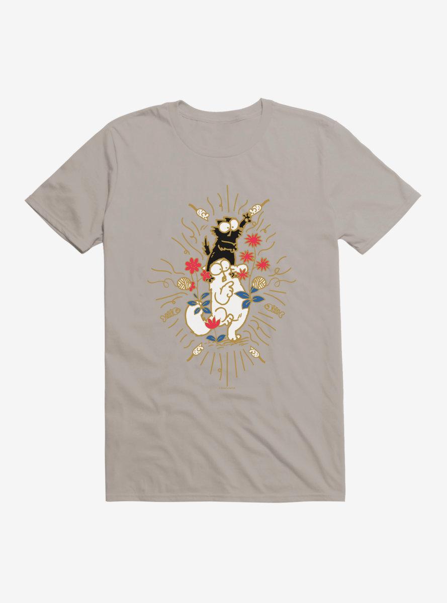 Simon's Cat Fighting Cats T-Shirt