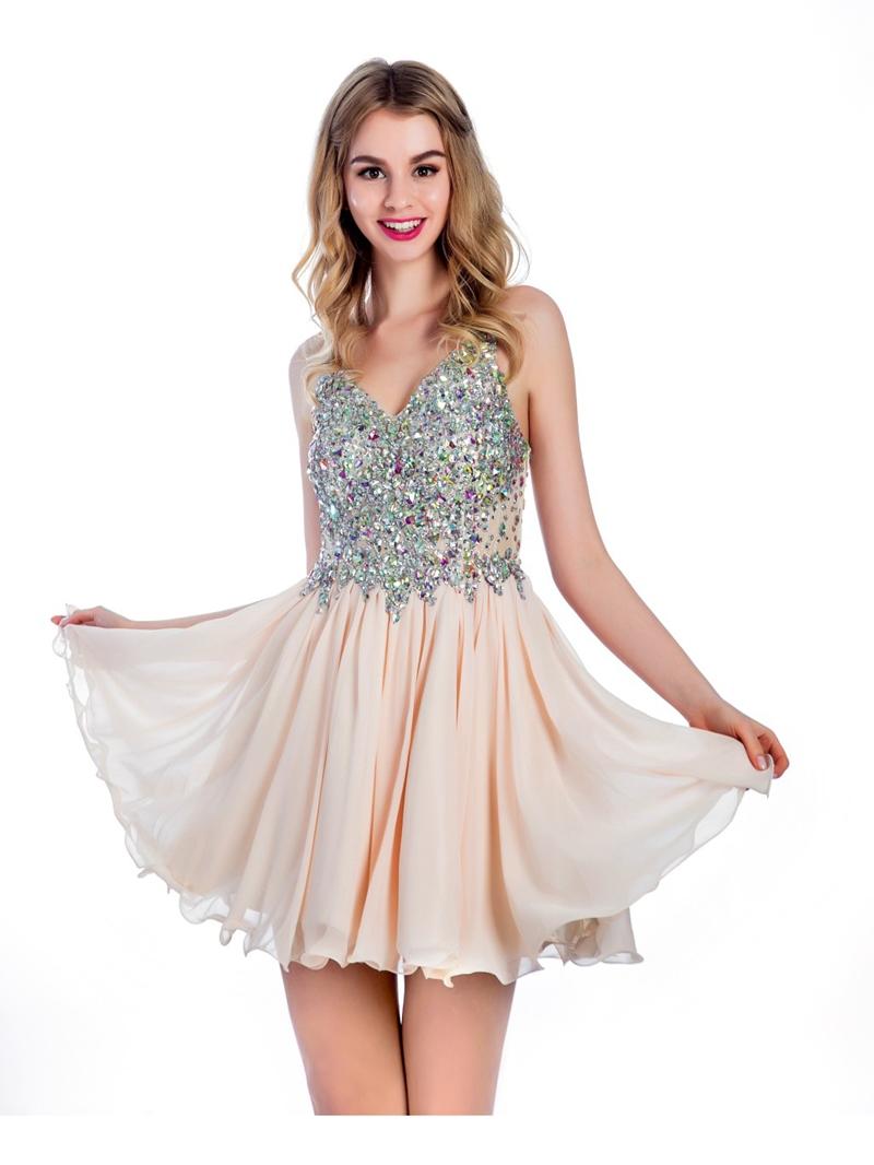 Ericdress A-Line Beading Short Prom Dress