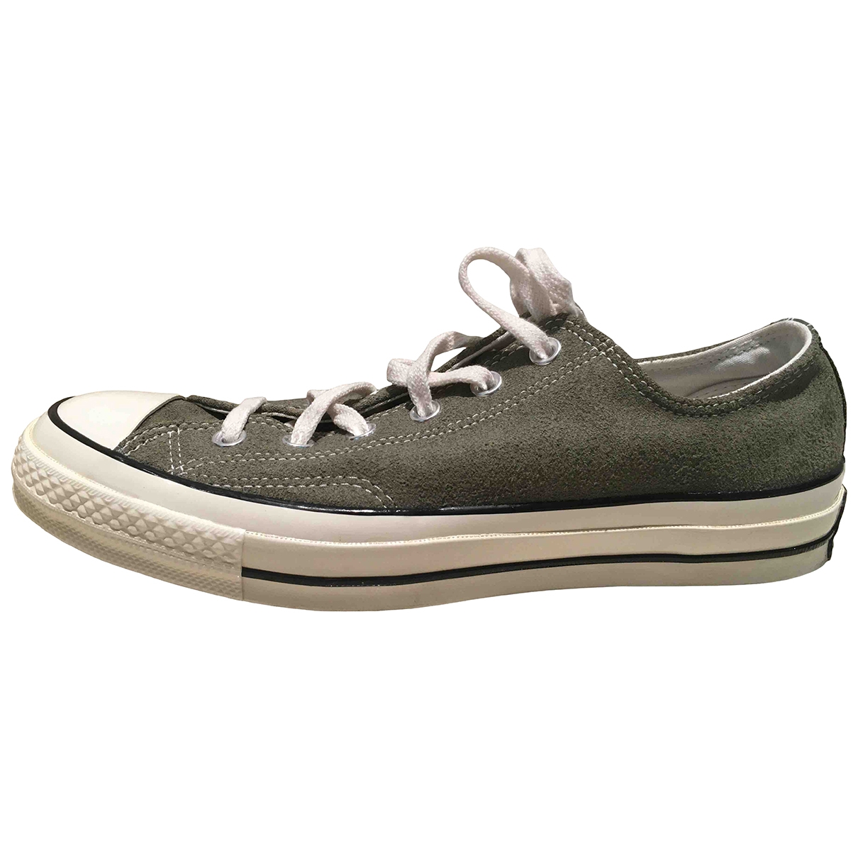 Converse \N Khaki Leather Trainers for Men 7.5 US