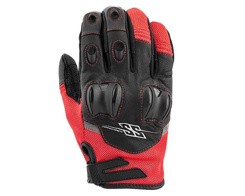 Speed and Strength 872248 Power Glory Gloves Red SM