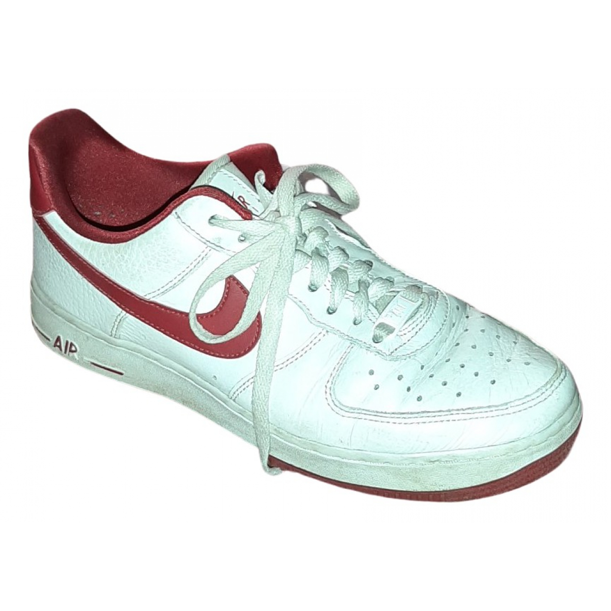 Nike Air Force 1 Sneakers in  Weiss Leder