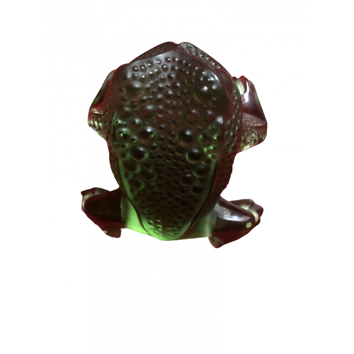 Lalique - Arts de la table   pour lifestyle en cristal - vert
