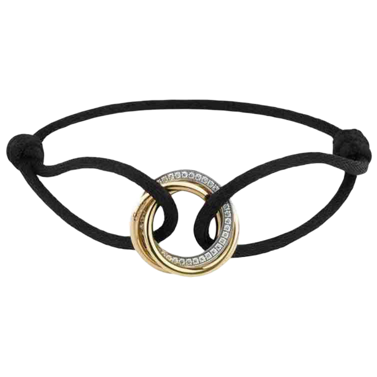 Cartier - Bracelet Trinity pour femme en or jaune - dore