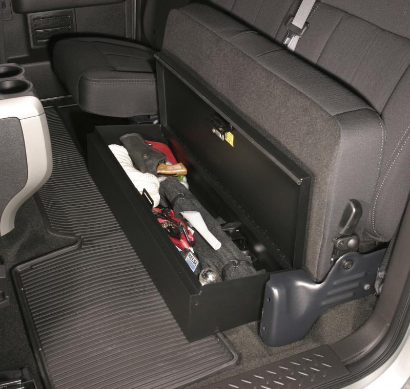 Tuffy Security 285-01 Underseat Lockbox Ford F-150 2009-2014