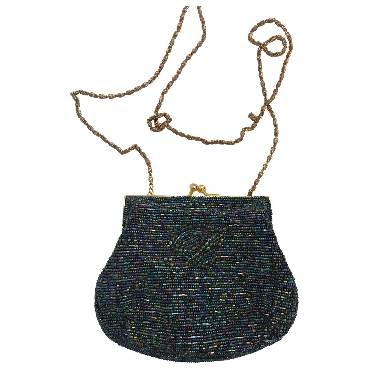 Blumarine \N Handtasche in  Blau Mit Pailletten
