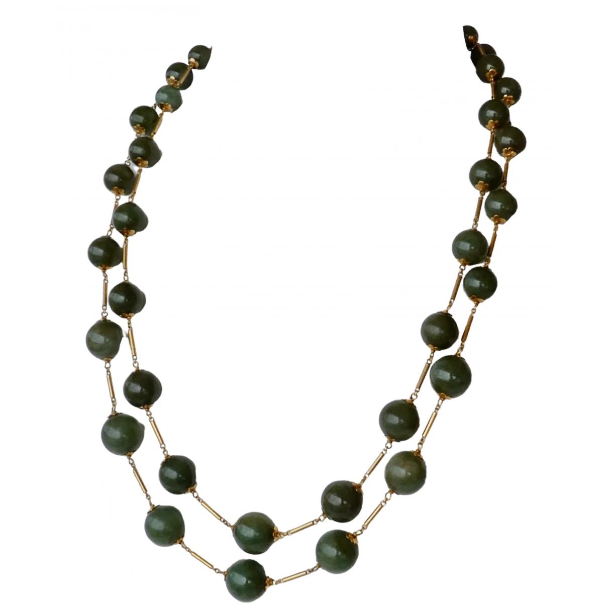 - Collier   pour femme en jade - vert
