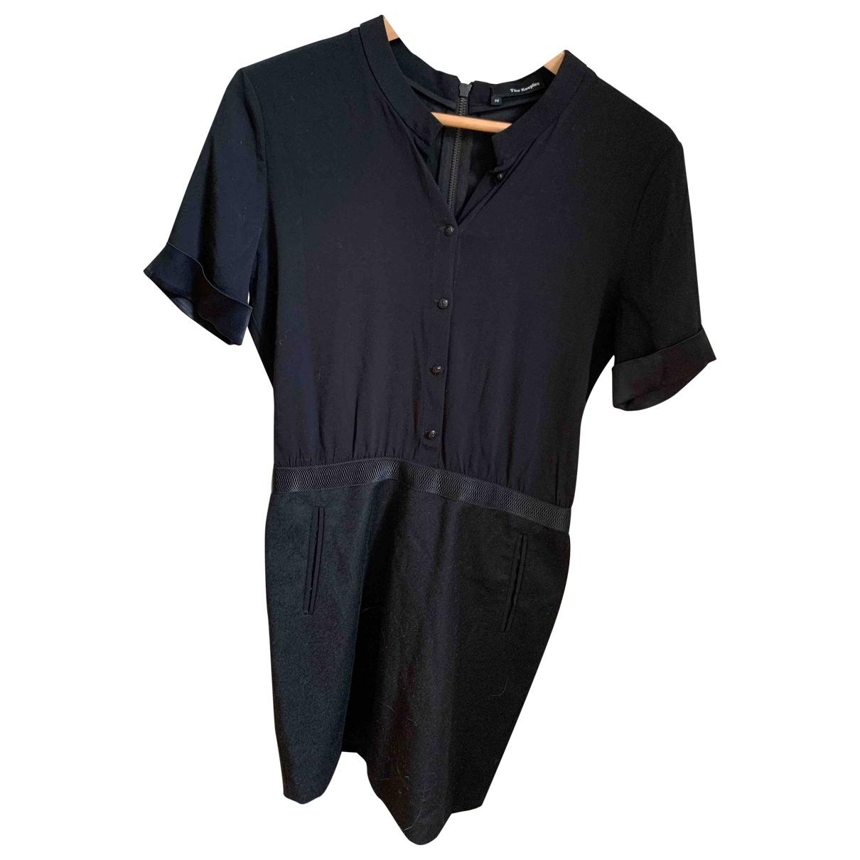 The Kooples \N Kleid in  Schwarz Wolle