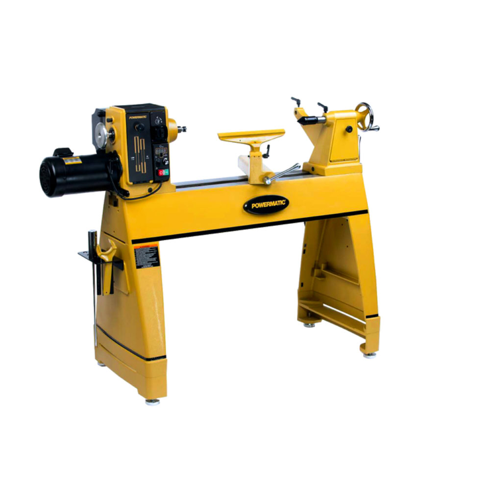 Lathe with 6