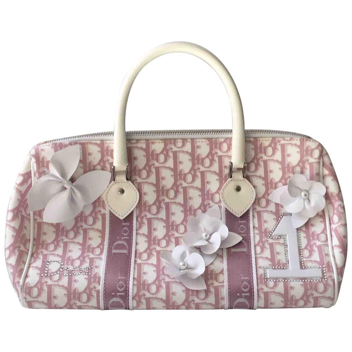 Dior \N Pink Cotton handbag for Women \N
