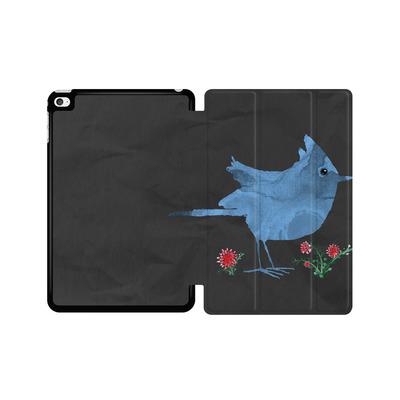 Apple iPad mini 4 Tablet Smart Case - Watercolour Bird Black von caseable Designs