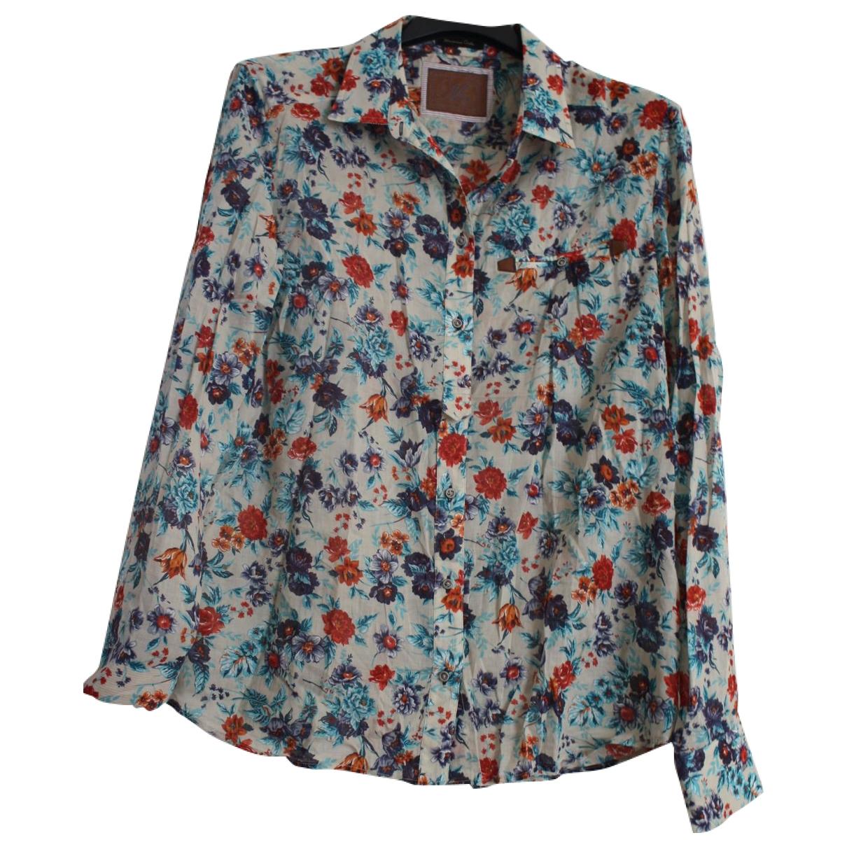 Massimo Dutti \N Multicolour Cotton  top for Women M International