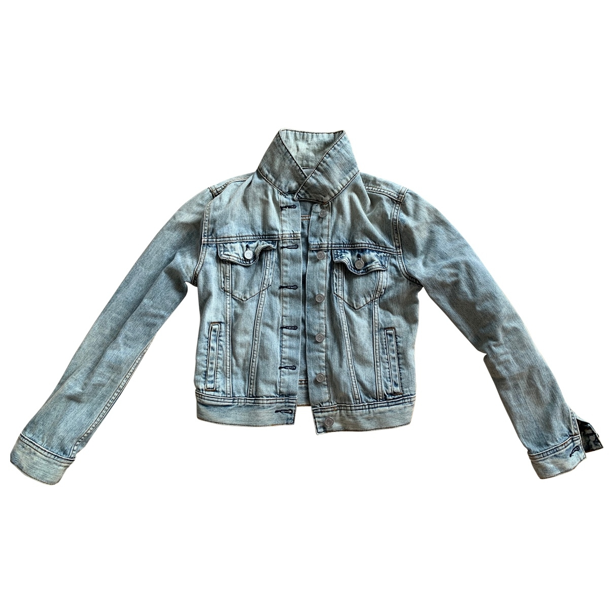 Aritzia \N Blue Denim - Jeans jacket for Women S International