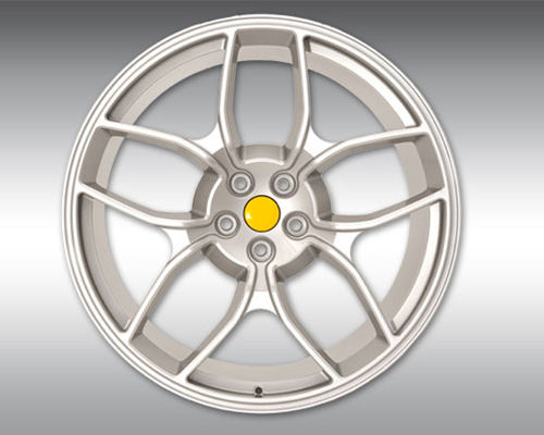 Novitec F4 222 31 NF4 Forged Rear Wheel Silver 22x12 Ferrari F12 Berlinetta 13-17