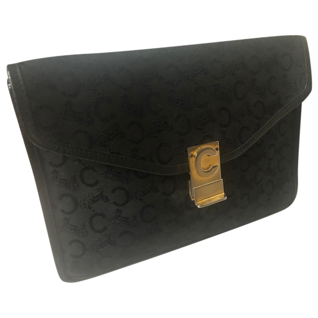 Celine N Black Cloth Clutch bag for Women N