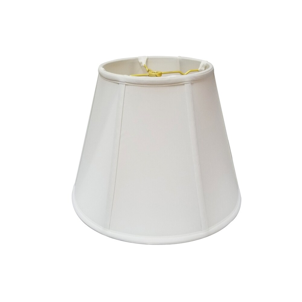 Royal Designs White Modified Bell Basic Lamp Shade, 9 x 14 x 10.5 (Color)