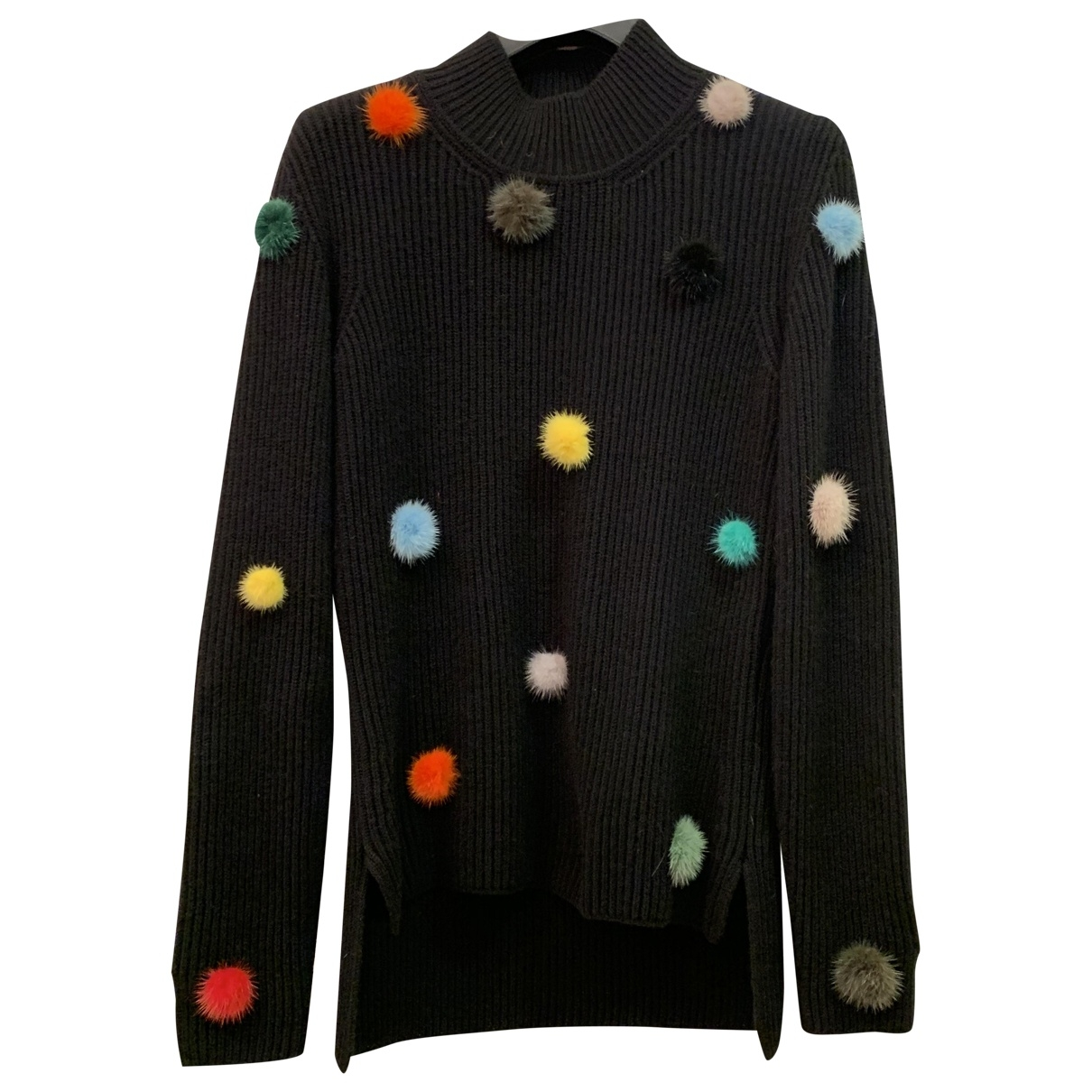 Fendi \N Pullover in  Schwarz Kaschmir