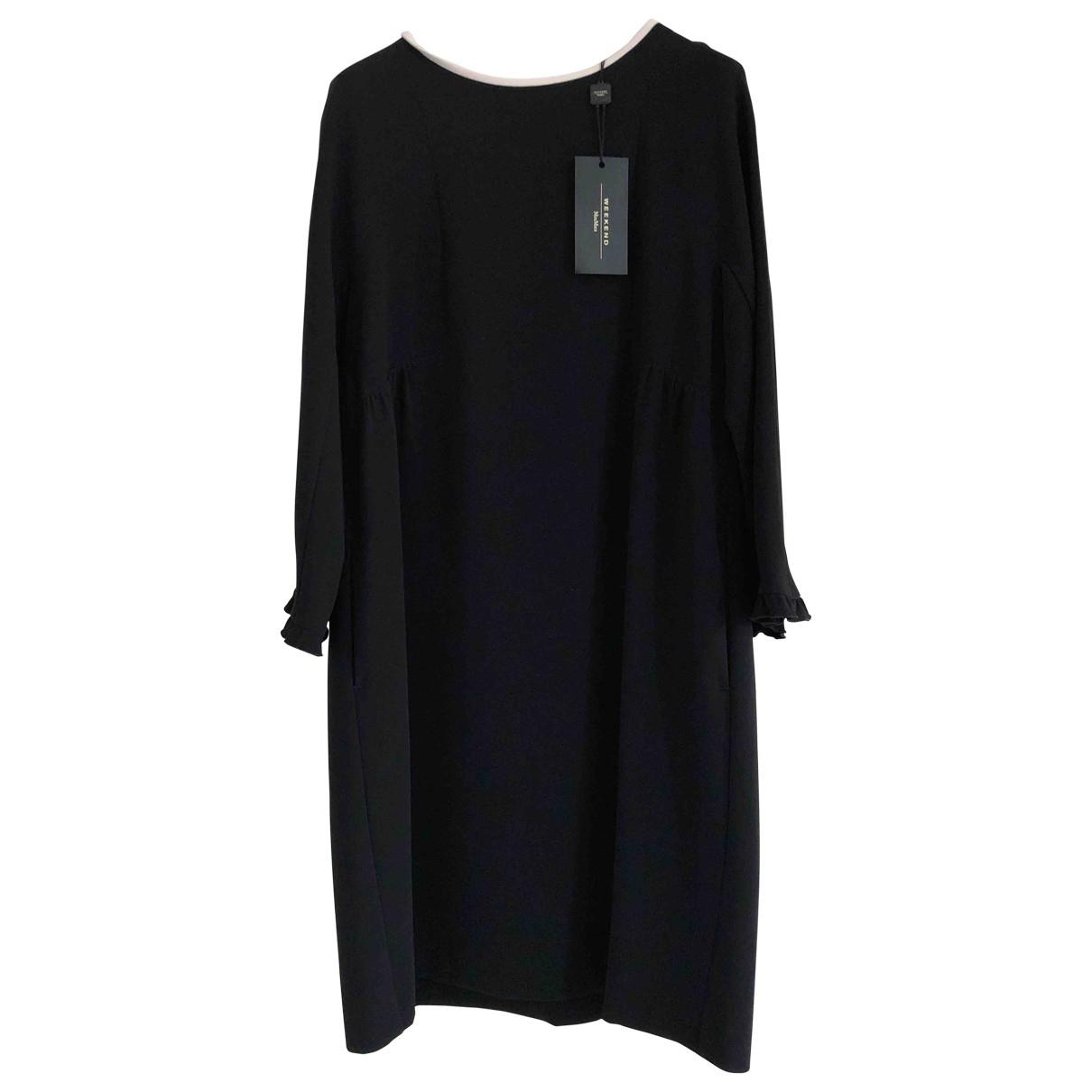 Max Mara Weekend \N Black dress for Women 46 IT