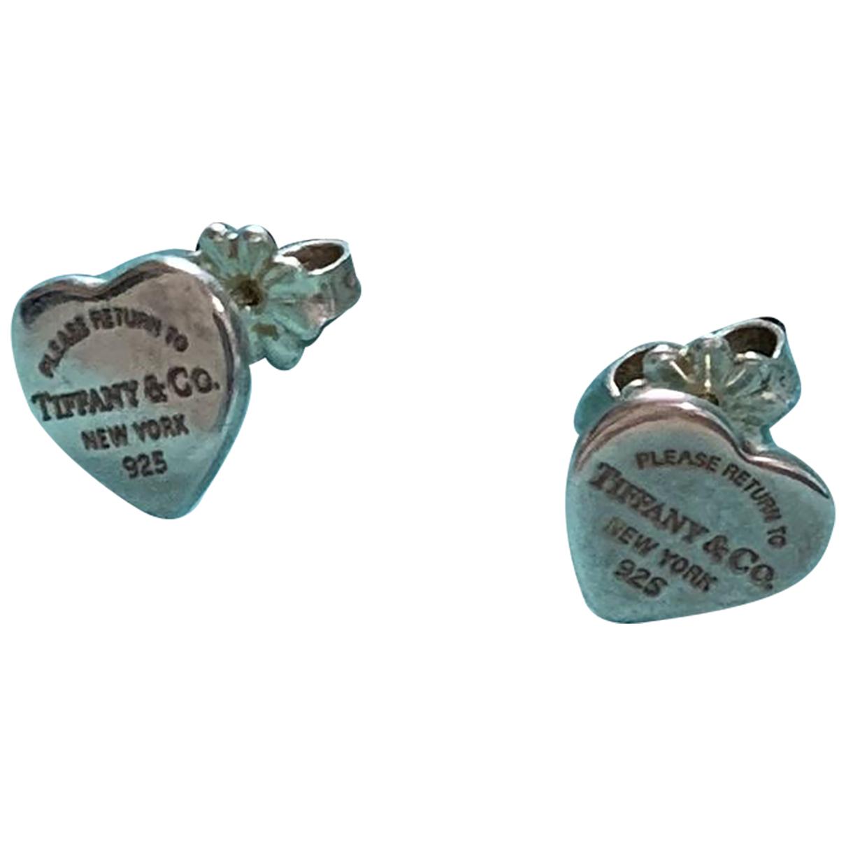 Tiffany & Co - Boucles doreilles Return to Tiffany pour femme en argent - argente