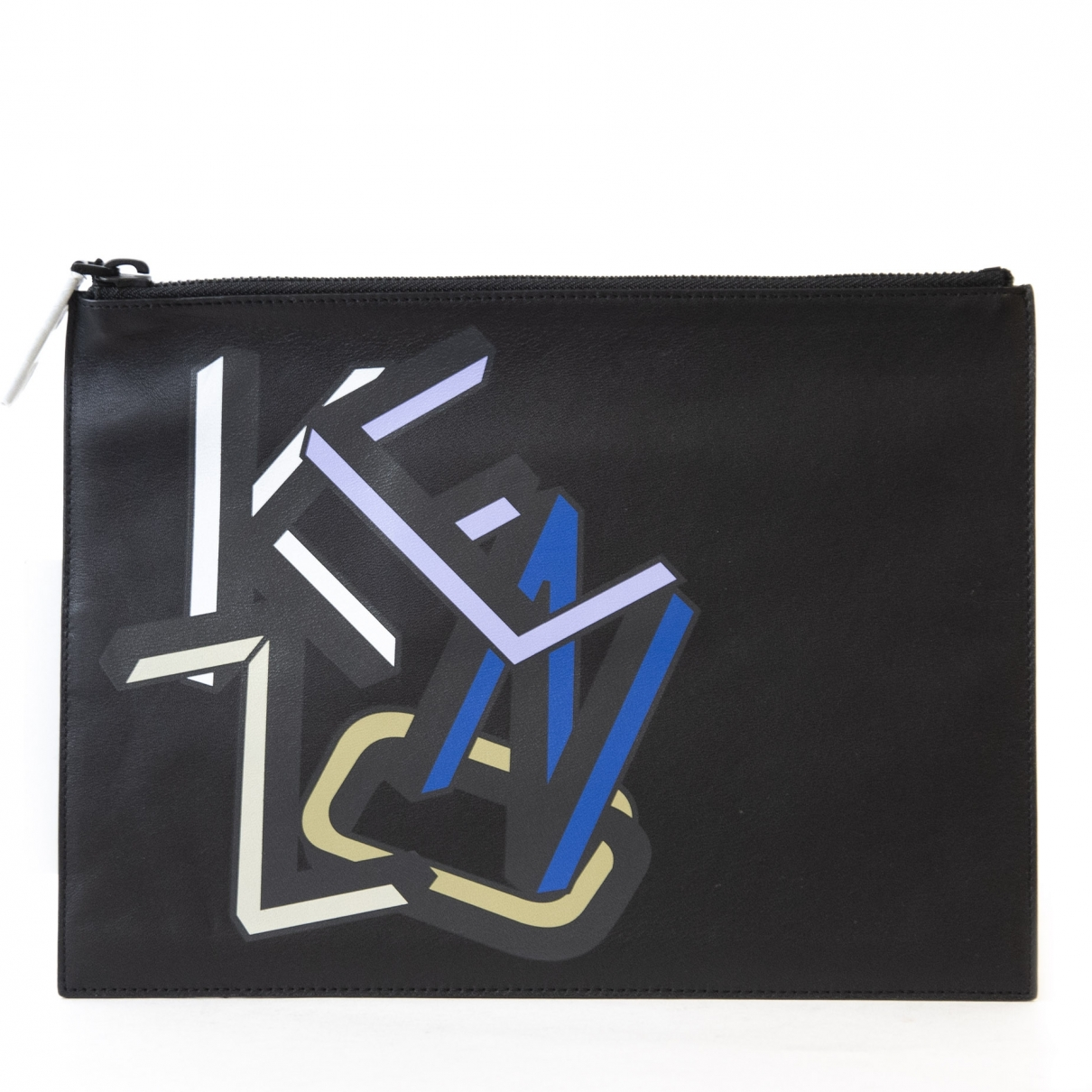 Kenzo \N Black Leather Clutch bag for Women \N