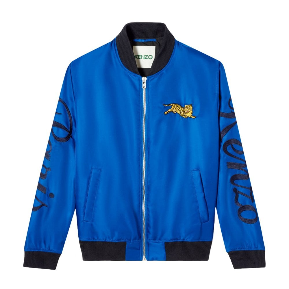 Kenzo Jumping Tiger Bomber Colour: BLUE, Size: SMALL
