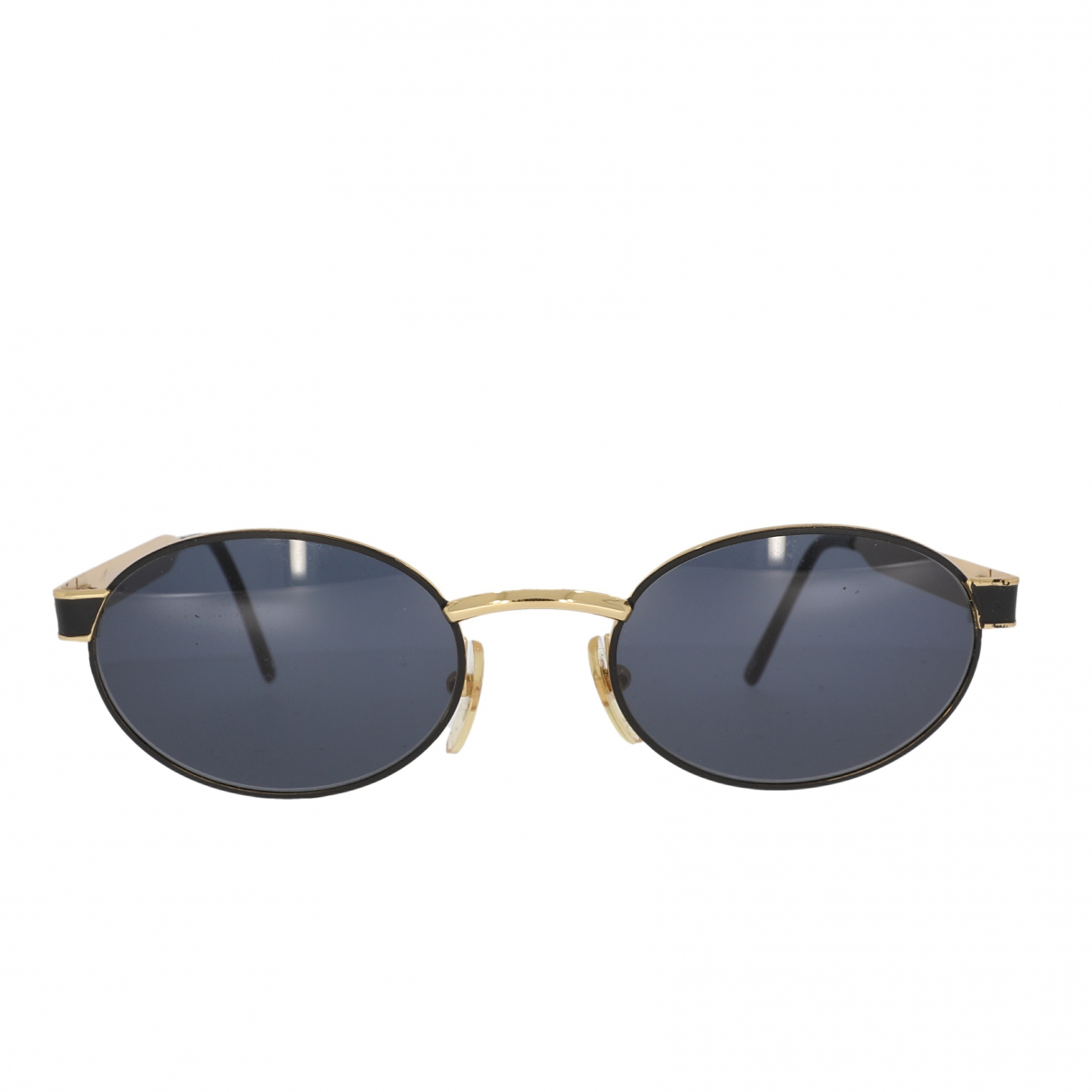 Versace \N Gold Metal Sunglasses for Women \N