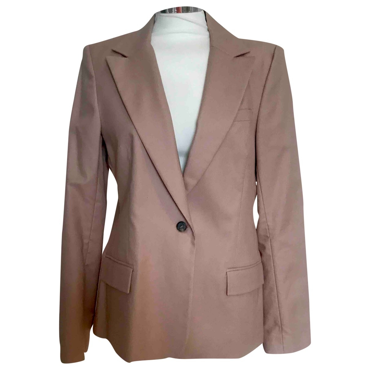 Reiss \N Jacke in  Rosa Synthetik