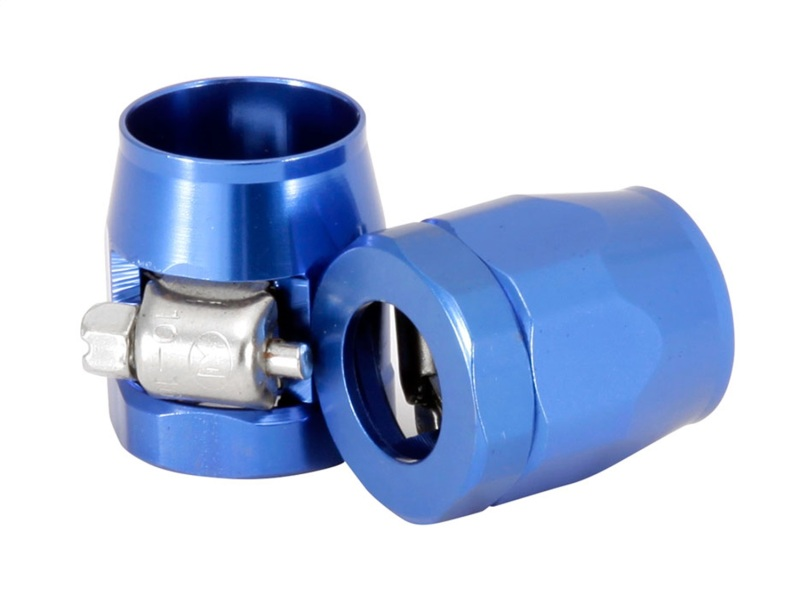 Spectre 2266 Magna-Clamp Hose Clamps 3/8in. (2 Pack) - Blue