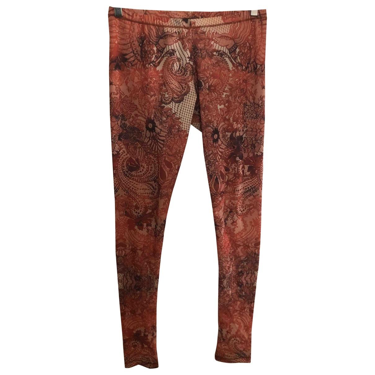 Mcq \N Multicolour Trousers for Women 42 IT