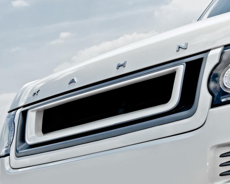 Kahn Design PKRR2013FGRILLEBL Black Label Front Grill with 3D Mesh Land Rover Range Rover 13-14