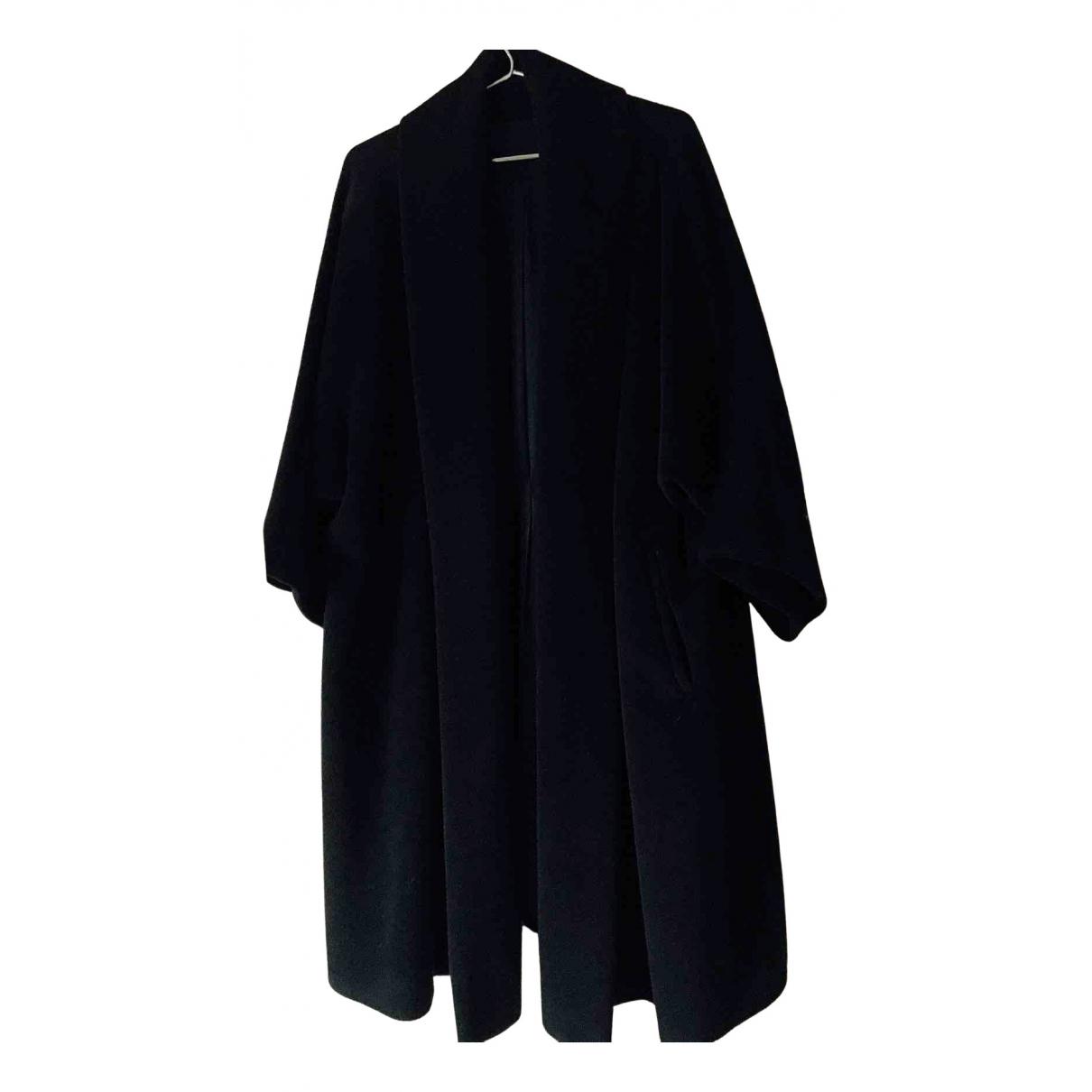 Max Mara N Black Wool coat for Women 8 UK