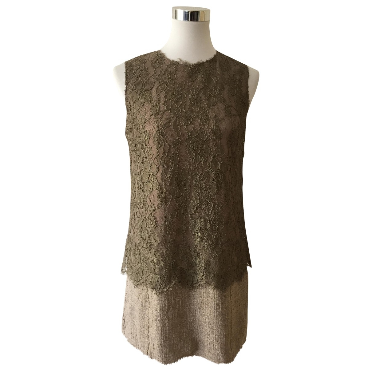 Dolce & Gabbana - Robe   pour femme - marron