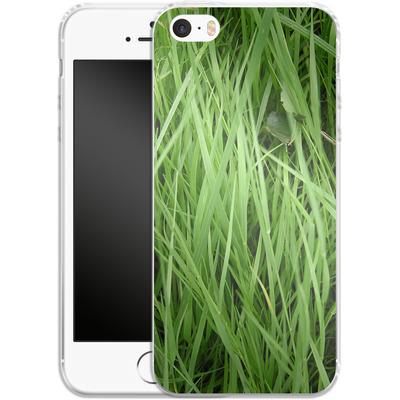 Apple iPhone 5s Silikon Handyhuelle - Grass von caseable Designs