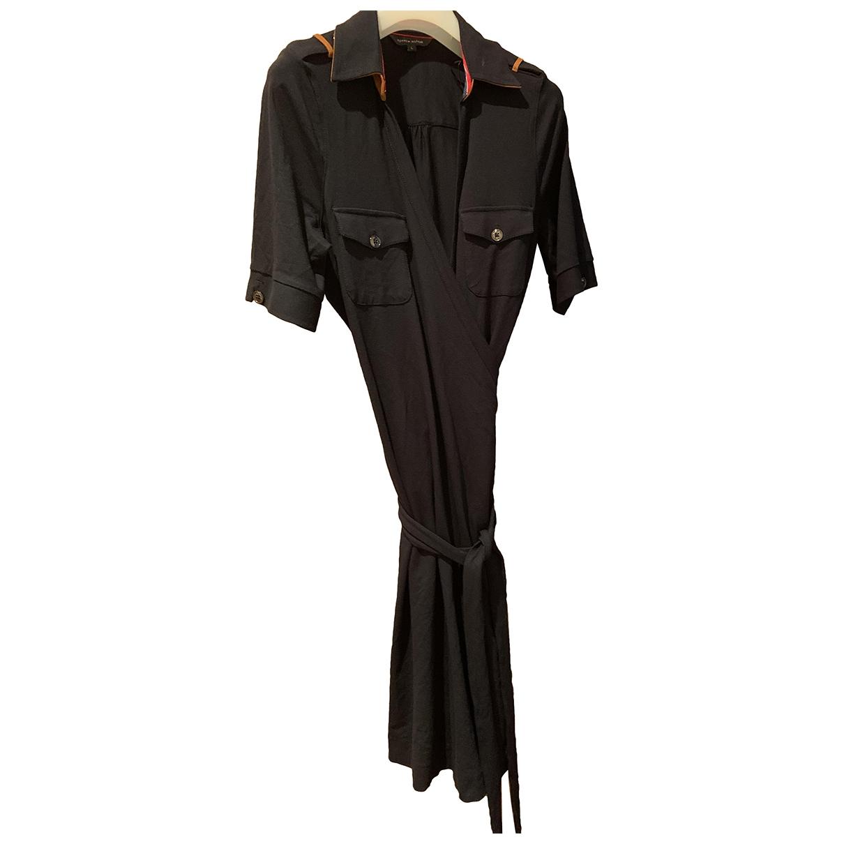 Tommy Hilfiger \N Kleid in  Blau Viskose