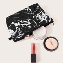 Marble Pattern Makeup Bag